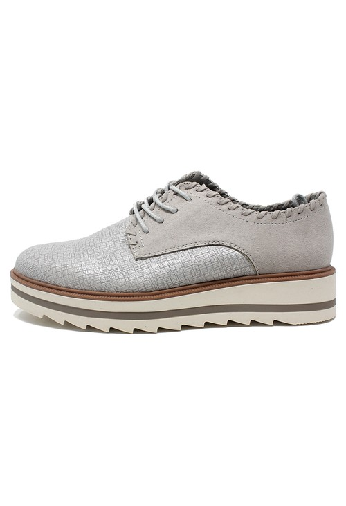 Shoe Lounge Dusted Grey Brogues