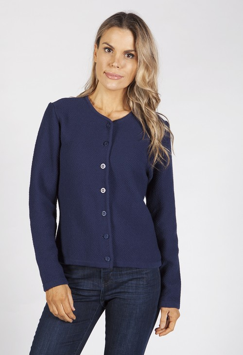 Bicalla Navy Knit Cardigan