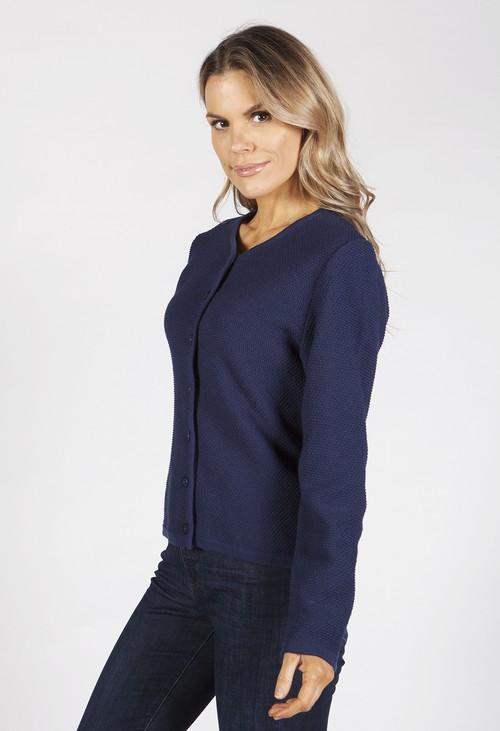 Bicalla Navy Knit Cardigan