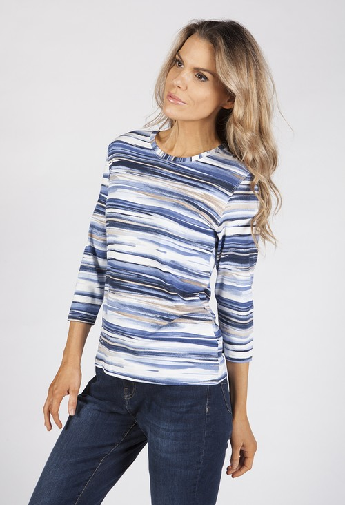 Bicalla Sand Striped Top