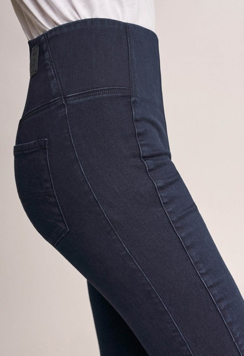 Salsa Jeans High waisted dark Denim Jeggings