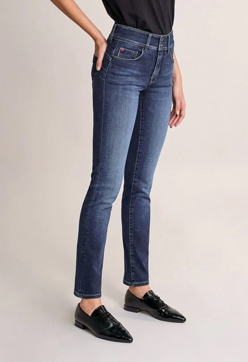 Salsa Jeans 30 Leg Push in Secret Dark Denim Jeans