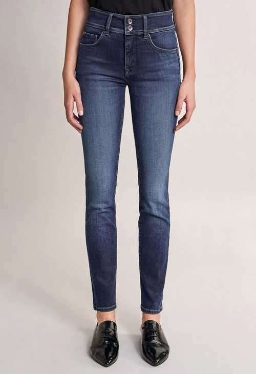 Salsa Jeans 32 Leg Push in Secret Dark Denim Jeans