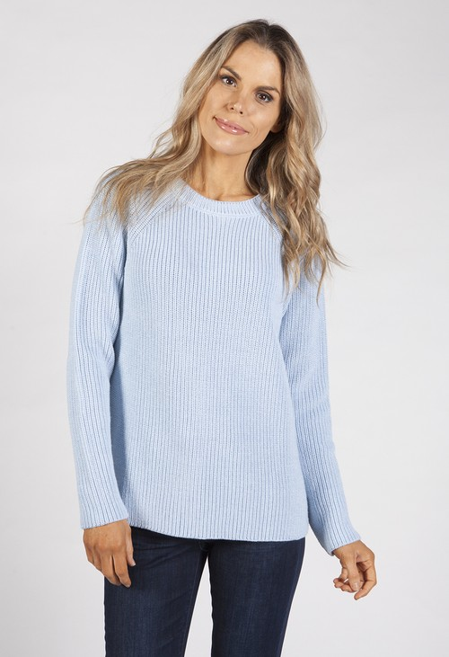 Bicalla Baby Blue Knit Top