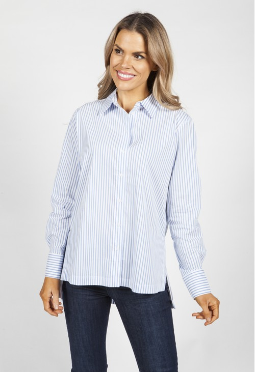 Opus Feorgia Striped Blouse