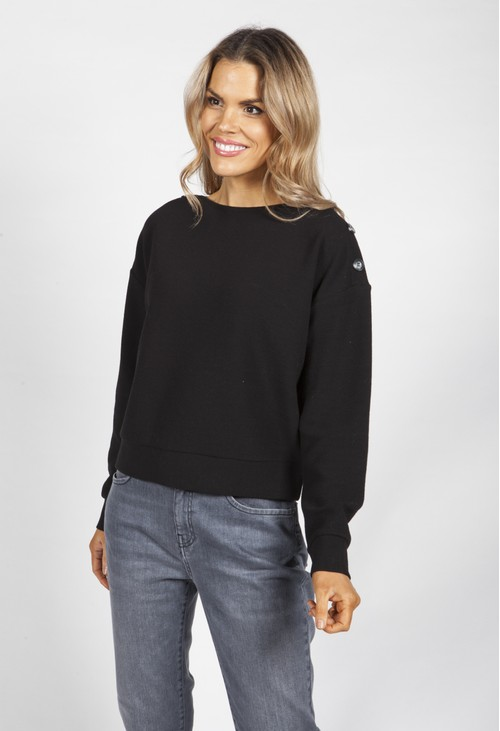 Opus Black Gella Sweater
