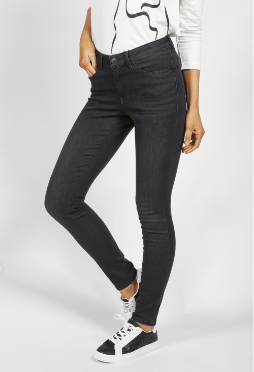 Opus Elma Stone Grey Jeans