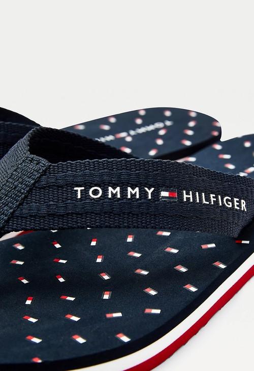 Tommy Hilfiger Desert Sky Repeat Flag Flip Flop