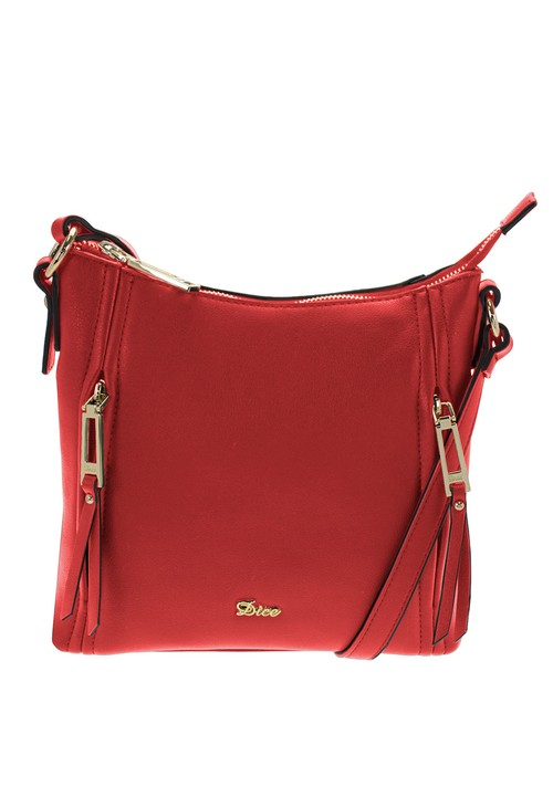 Dice Red Curve Top Cross Body Bag