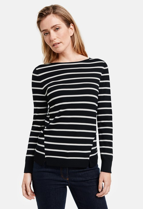 Gerry Weber Stripe Pattern Jumper