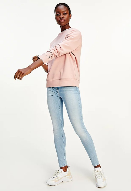 Tommy Hilfiger Soothing Pink Crew Neck Sweatshirt