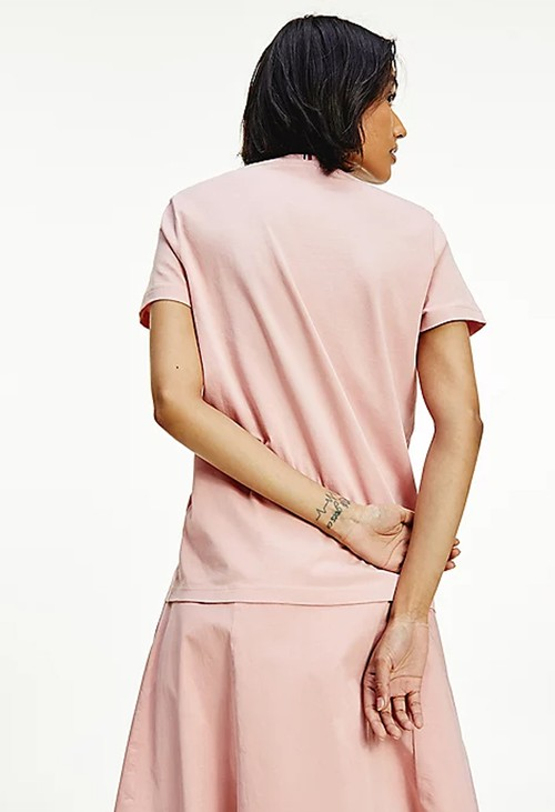 Tommy Hilfiger Soothing Pink Crew Neck Tee