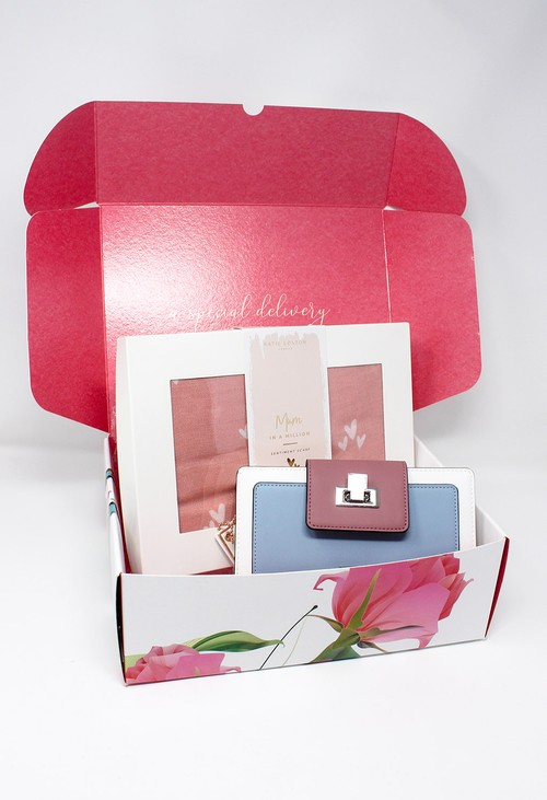 Gionni Mum in a Million Scarf and RFID Wallet Gift Set Box