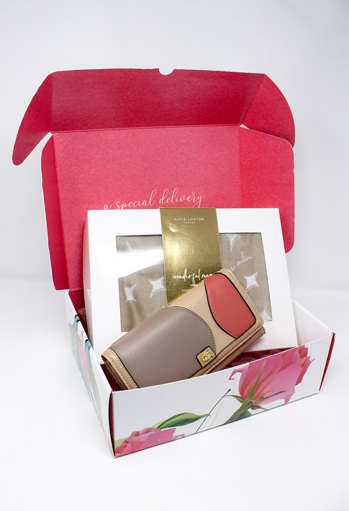 Gionni Wonderful Mum Scarf and Wallet Gift Set Box