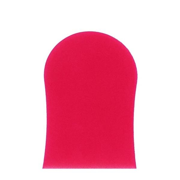 Beauty Cocoa Brown Double Sided Pink Velvet Tanning Mitt