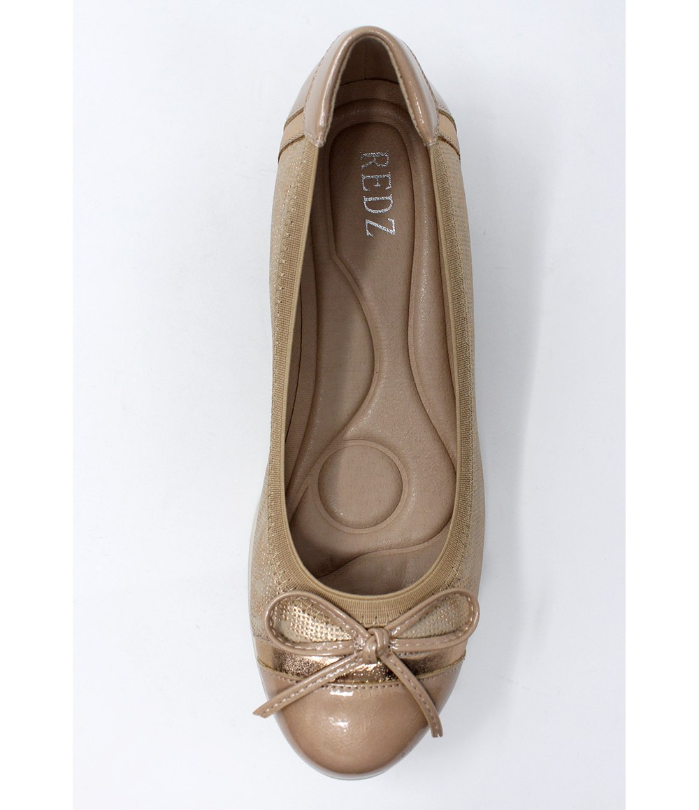 Shoe Lounge Low Wedge Champagne Lightweight Pumps