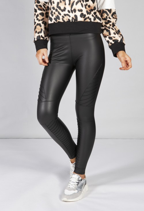 PS Leggings Harley biker faux leather leggings