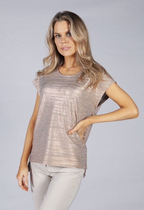Betty Barclay Casual top with gloss effect