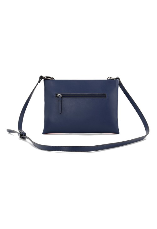 Gionni Gionni striped crossbody in navy, red and white