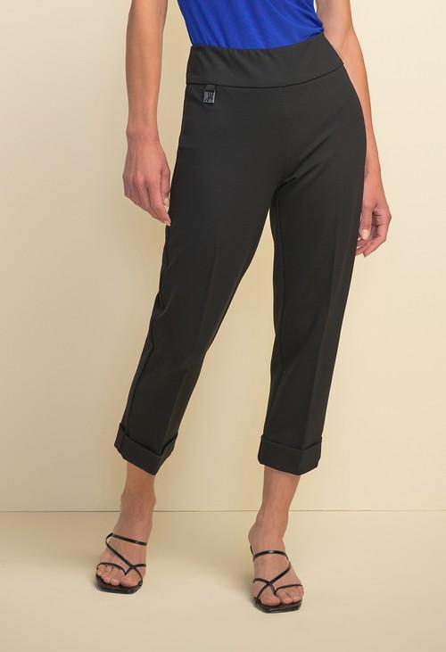 Joseph Ribkoff Turn up Capri Trousers