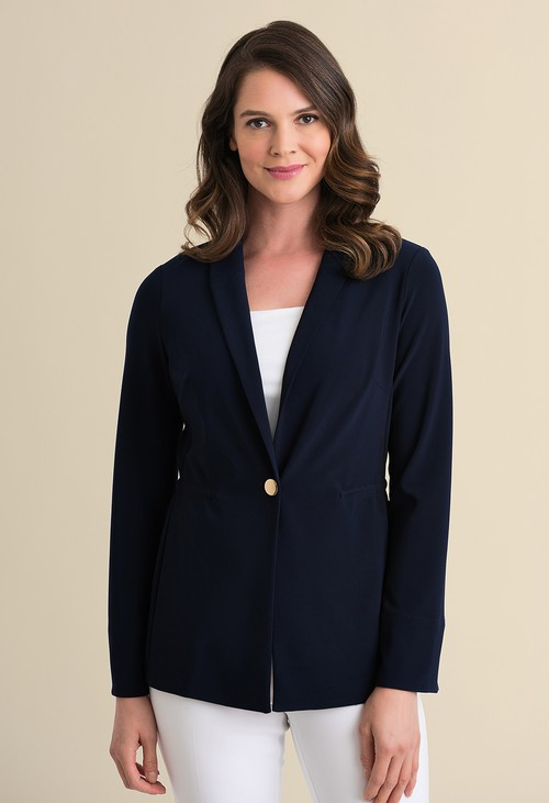 Joseph Ribkoff One Button Blazer