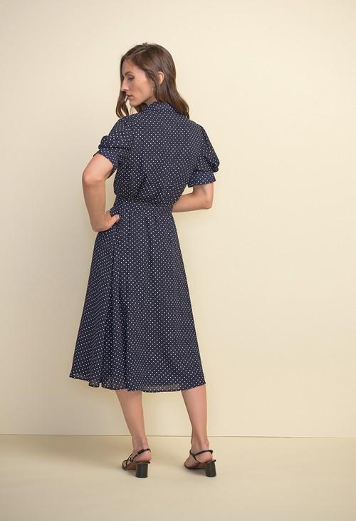Joseph Ribkoff Polka Dot Dress