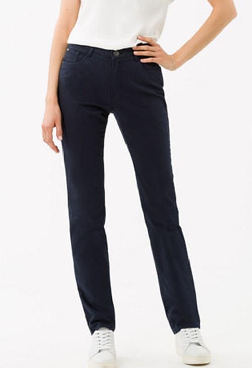 Brax Carola Short Leg Jeans in Perma Blue