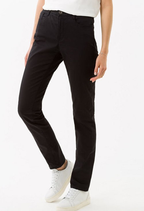 Brax Mary Regular Leg Jeans in Perma Black
