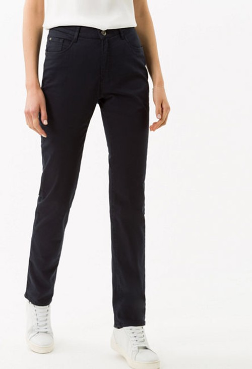 Brax Mary Short Leg Jeans in Perma Blue