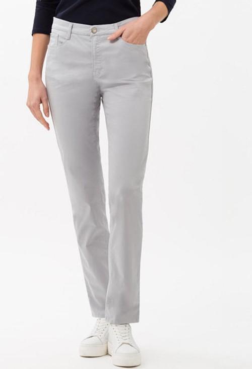 Brax Carola style in silver grey regular leg