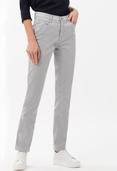Brax Mary Style in Silver Grey Regular Leg