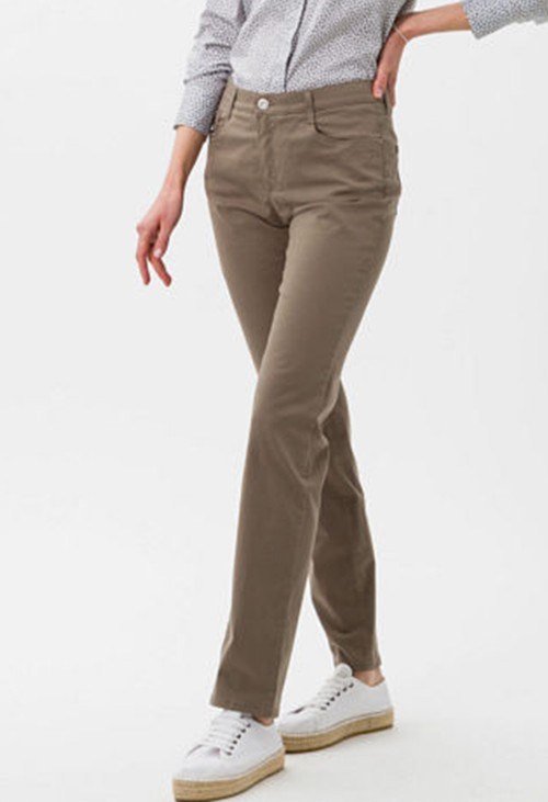 Brax Mary Style in Khaki Short Leg