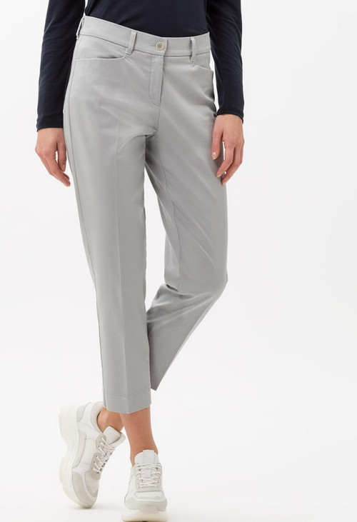 Brax Mara Chino Style in Silver Grey