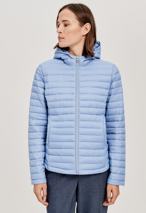 Opus Quilted Jacket in Blue