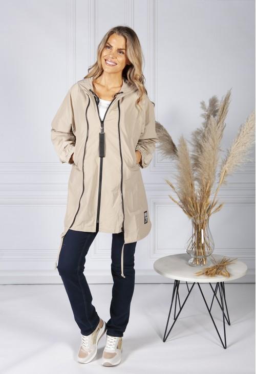 Pamela Scott 'What Ever' Beige Jacket