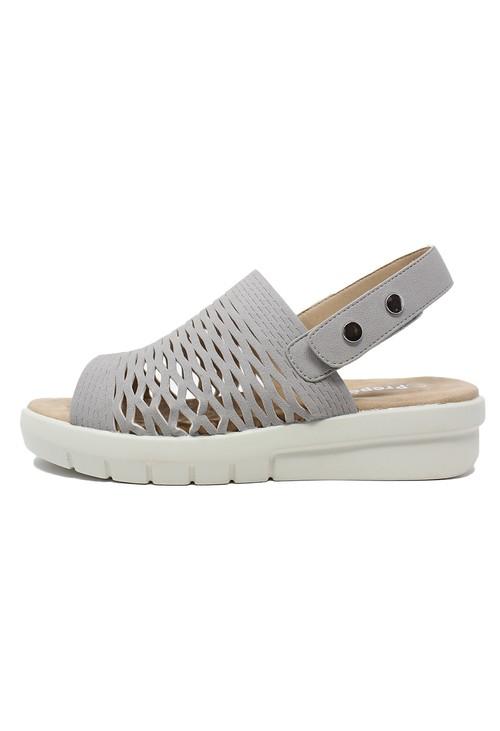 Propét Grey Slingback Sandal