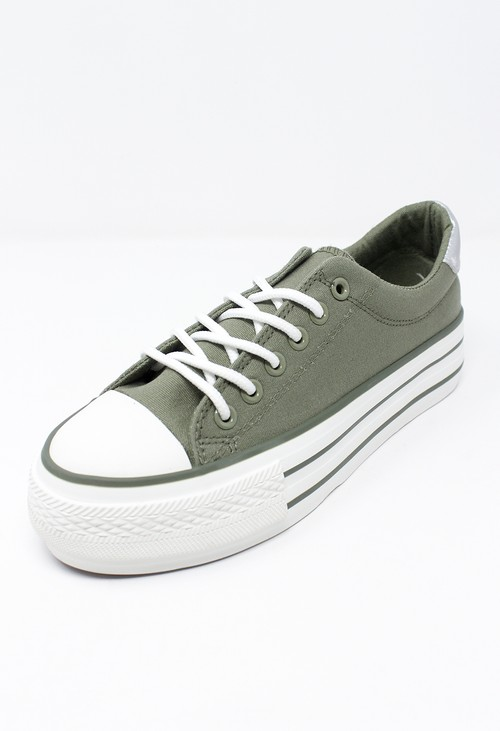 Shoe Lounge Khaki Laced Runner