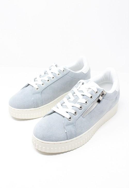 Shoe Lounge Light Blue Laced Sneaker