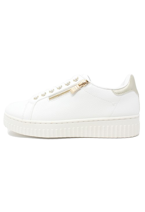 Shoe Lounge White Laced Sneaker