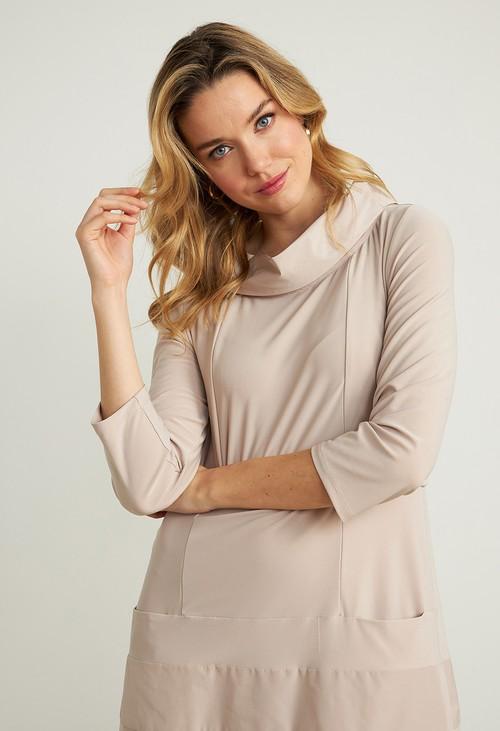 Joseph Ribkoff Sand Taffeta Dress Style