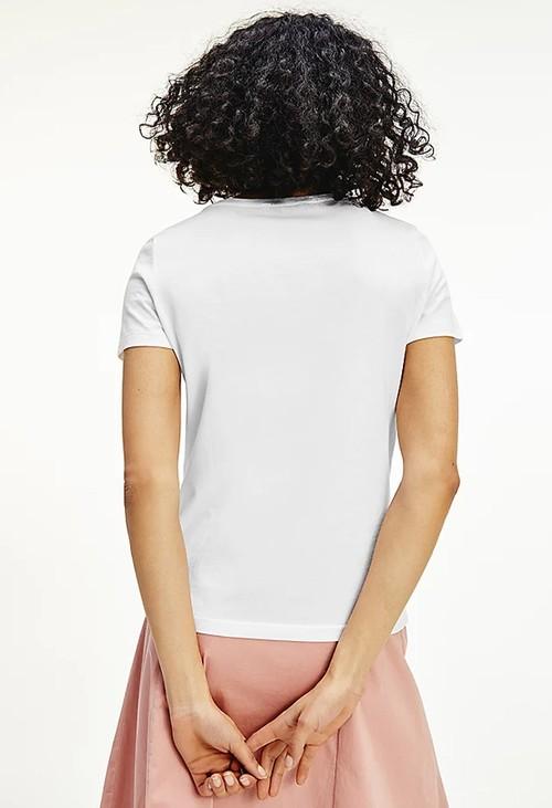 Tommy Hilfiger Logo T-shirt in White