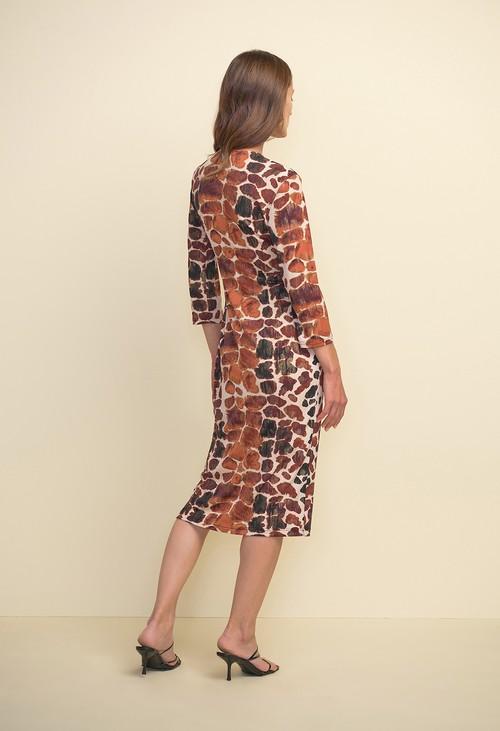 Joseph Ribkoff Animal Print Dress