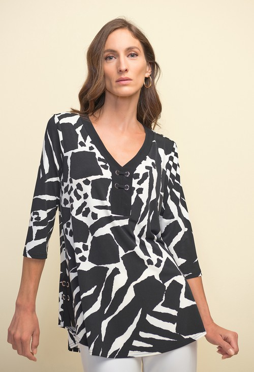Joseph Ribkoff Animal Print Tunic