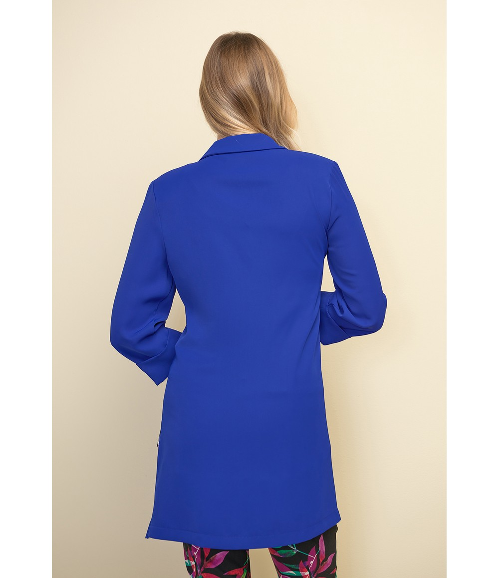 Joseph Ribkoff Royal Blue 3/4 Sleeve Classic Blazer