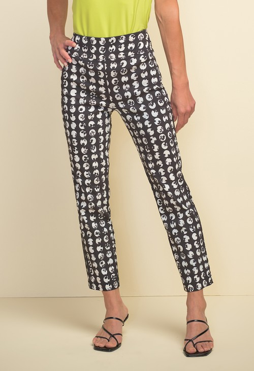 Joseph Ribkoff Polka Dot Print Trousers