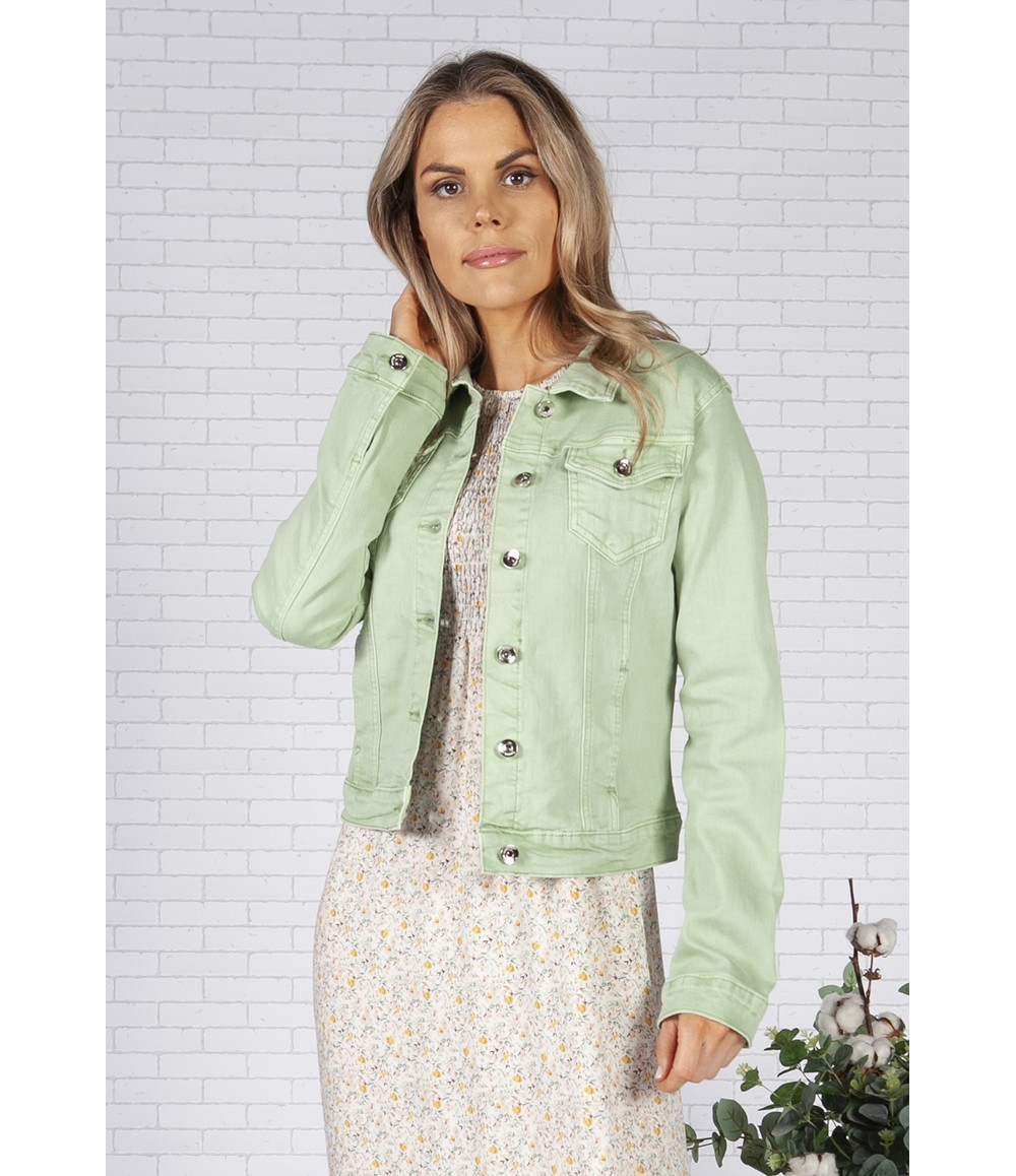 Pamela Scott Sage Denim Jacket