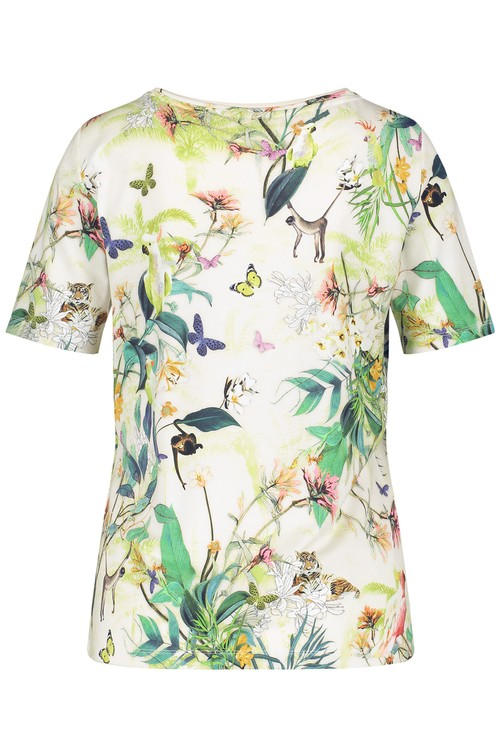Gerry Weber Top with a Jungle Print
