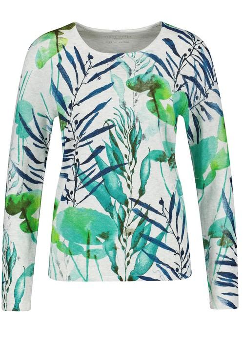 Gerry Weber Organic cotton jumper in green