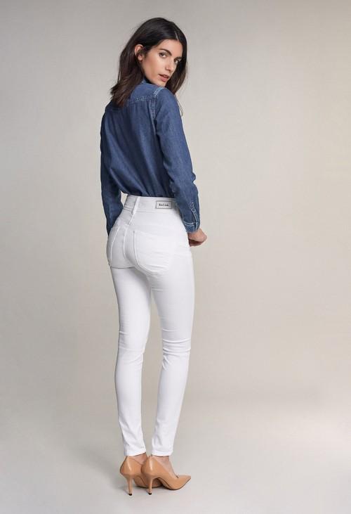 Salsa Jeans 30 Leg Secret PUSH in Skinny White Jeans