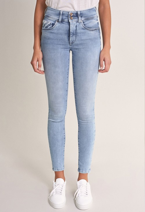 Salsa Jeans 30 Leg Push in Secret Skinny Jeans with Details